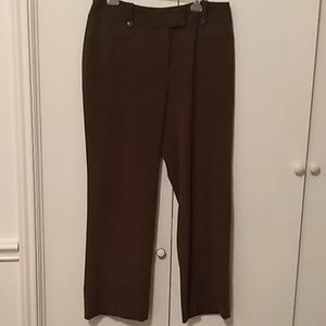 Woman's Brown Cato Pants Size 14